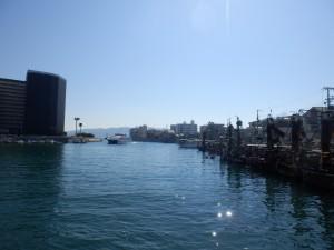 今日は快晴!チャリで淡路島に行こう!